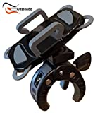 Crescendo CR-30 SlimClip Smart Phone Holder | Mount Clamp for Microphone Stand, Boom