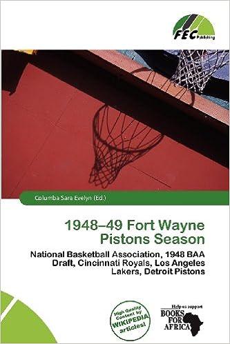 Amazon | 1948-49 Fort Wayne Pi...