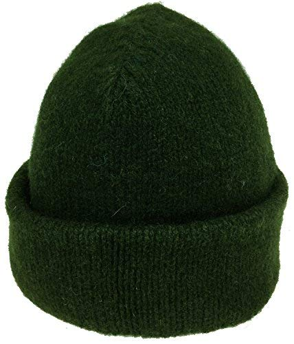 Dachstein Woolwear Alpine Wool Cap Hunter Green One - Hat Wool Winter