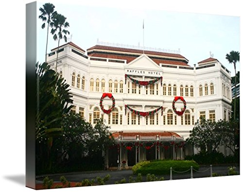Wall Art Print entitled Raffles Hotel Singapore 2014, Color 2 by Optic Shoot Gallery | 24 x - Singapore Optics