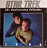 Star Trek 30th Anniversary Wall Calendar 1996