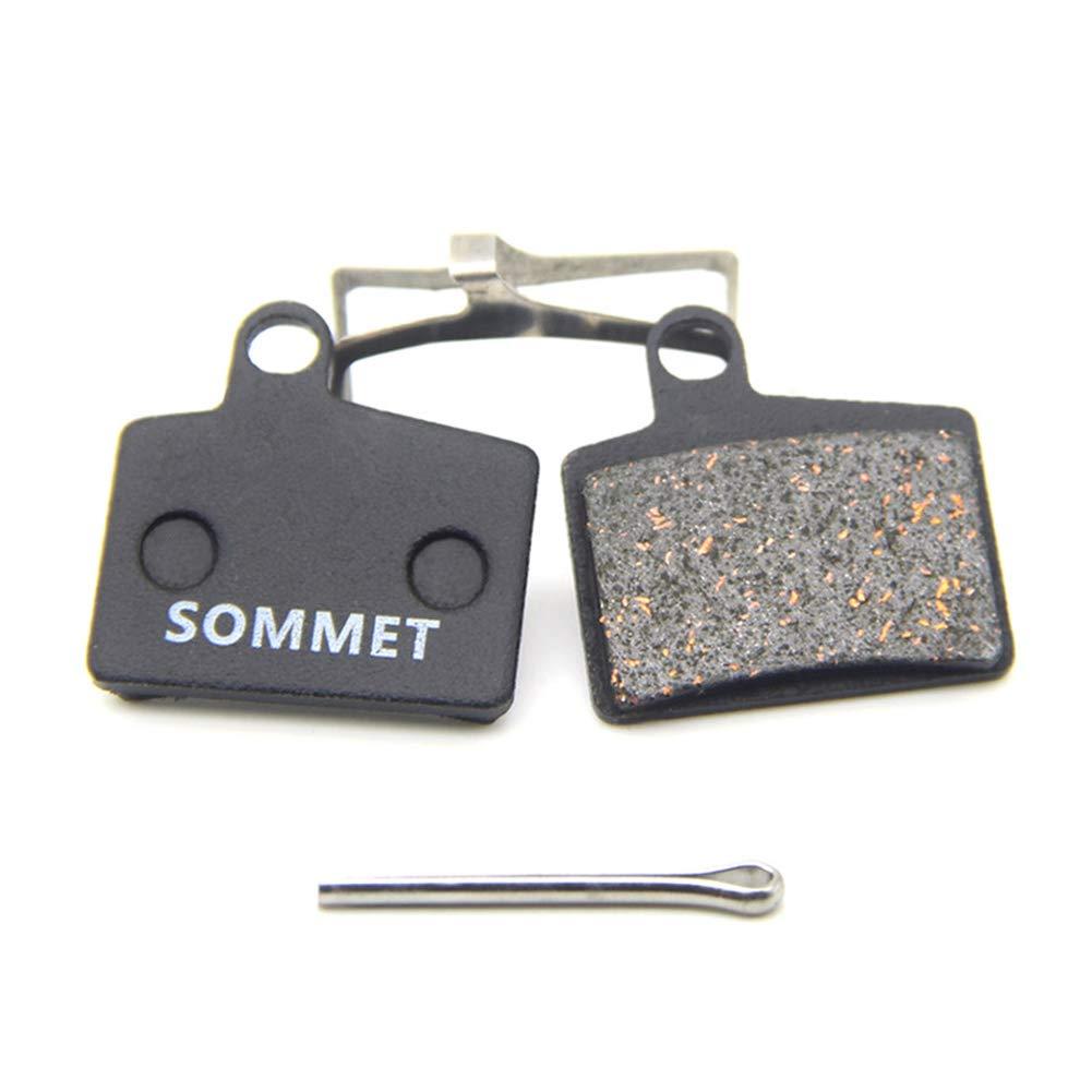 SOMMET Resin and Semi-Metallic Disc Brake Pads fit for Hayes Stroker Ryde/Redar/Dyno Sport Comp/Prime Sport ZSP16-1