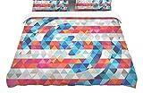 KESS InHouse Fimbis ''Abstract America'' Digital King Cotton Duvet Cover, 104 x 88''