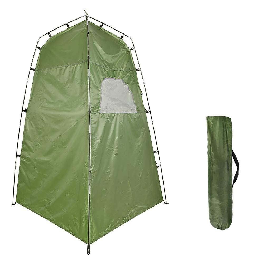 Mrinb Shower Tent Privacy - Outdoor Shower Bath Tent - Portable Shower Changing Toilet Privacy Room - Privacy Toilet with Carry Bag - Changing Room for Camping Hiking Beach Toilet by Mrinb