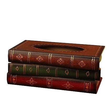 Beito Livre Ancien Elegant En Bois Boites De Mouchoirs Creative A Mouchoirs Fantaisie Support Pour Serviettes De Table