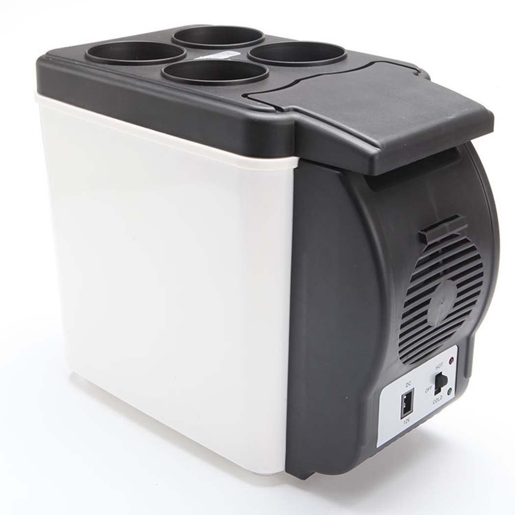 DSHBB Car Fridge Mini,Portable Car Refrigerator , Travel, Picnic, Camping Outdoor Use