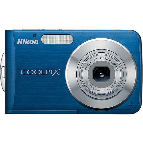 - Nikon Coolpix S210 8MP Digital Camera with 3x Optical Zoom (Cool Blue)