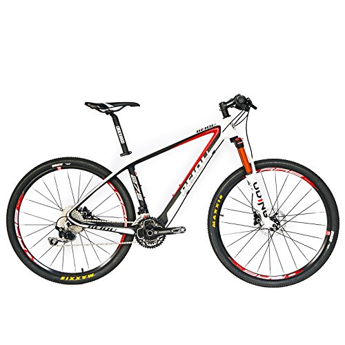 BEIOU® Carbon Fiber 650B Mountain Bike 27.5-Inch 10.7kg T800 Ultralight Frame 30...