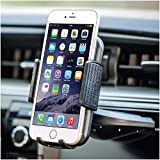 Bestrix Universal CD Slot Phone Holder for Car Ideal for iPhone X, 8, 7, 6, 6S Plus. 5S, 5C, 5, Samsung Galaxy S5, S6, S7, S8, Edge/Plus Note 4,5,8, LG G4, G5, G6, V30 All Smartphones up to 6''