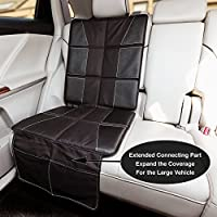 Glangels Seat Protector for Baby Child Car Seat(Full Size) – Enhanced Padded ...