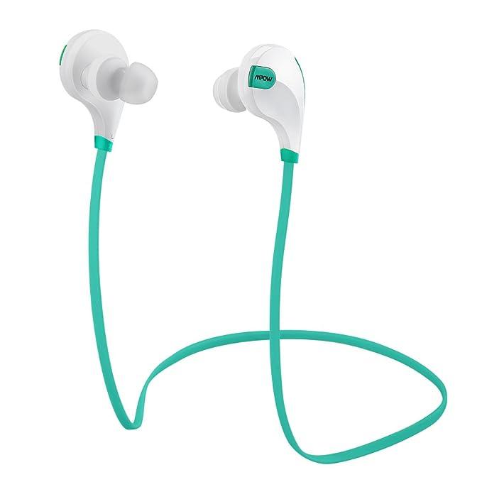 Mpow Swift Auricolari Wireless Bluetooth 4.0 Headset Stereo Cuffie Sportive  a Prova di Sudore con Microfono ... 04ca3697da1d
