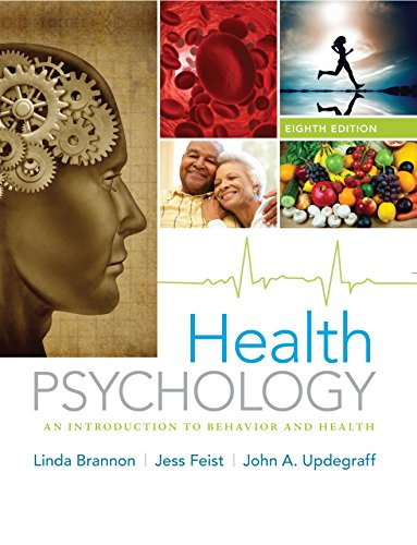Health Psychology: An Introduction to Behavior and Health Pdf