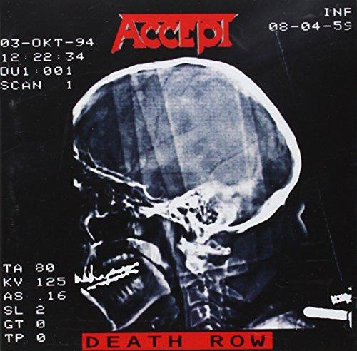 CD : Accept - Death Row (CD)