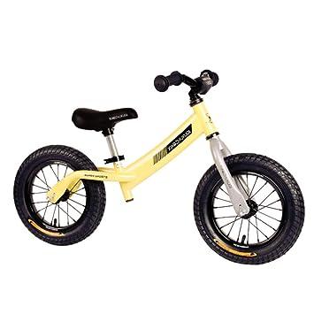 """GSDZN - 12"""" Bicicleta Sin Pedales Bici Sin Pedales, Ruedas De Goma para Todo"""