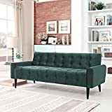 Modern Contemporary Urban Design Living Lounge Room Sofa, Green, Fabric Wood