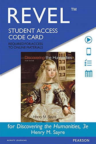 REVEL for Discovering the Humanities -- Standalone Access Card (3rd Edition)