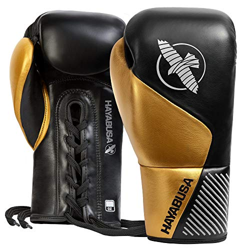 Hayabusa Pro Horse Hair Lace Up Boxing Gloves for Men and Women