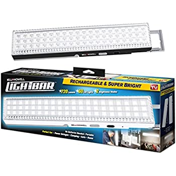 Light Bar By Bell Howell 60 Led 16 5 Quot Rechargeable