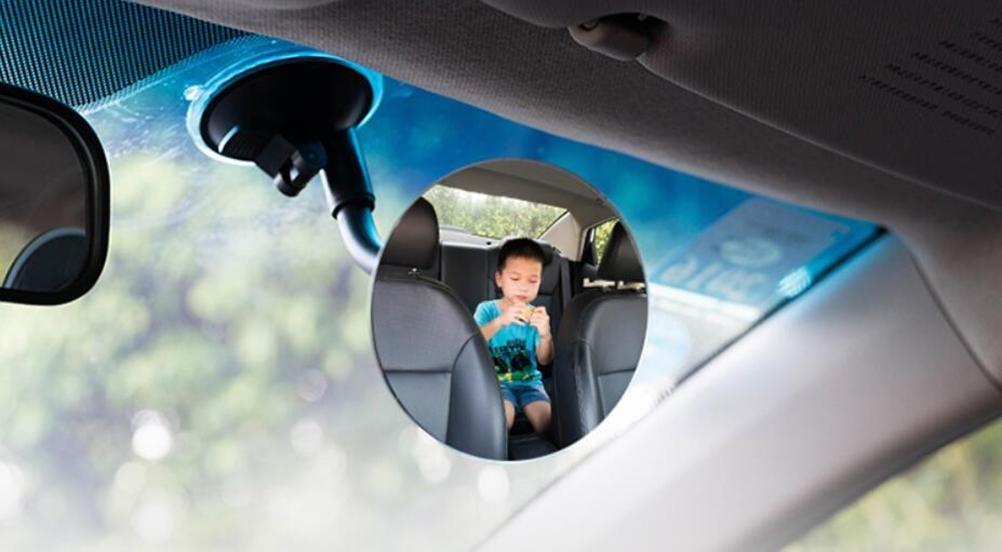 DOGIGIE Rahmenlose Baby Car Spiegel Runde R/ücksitzspiegel R/ückansicht Baby Car Seat Spiegel mit Saugnapf Leicht zu sehen Ihr kostbares Kind f/ür Auto Baby Sicherheit