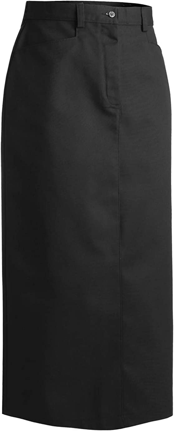 Edwards Ladies' Blended Chino Skirt-Long Length