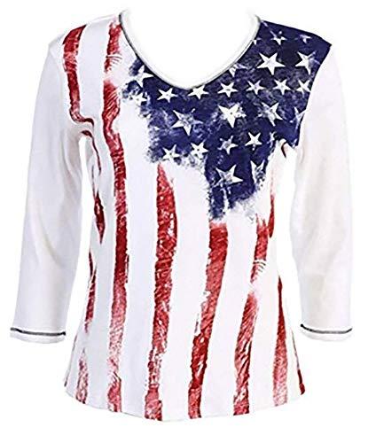 T-shirt Ladies Rhinestone - Jess N Jane
