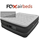 Top Rated Best Inflatable Bed By Fox Airbeds - Plush High Rise Air Mattress in King, Queen, Full and Twin Xl (King)