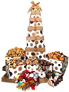Gift Basket For Her - Box Tower - 6 Tier