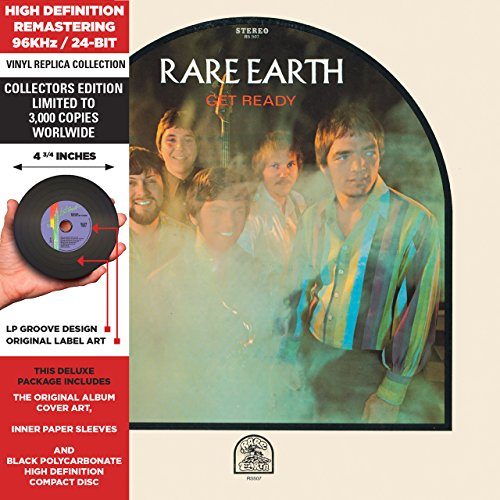 CD : Rare Earth - Get Ready (Limited Edition, Remastered, Collector's Edition)