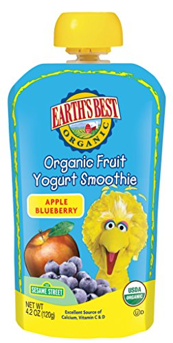 Earths Best Organic Smoothie Blueberry