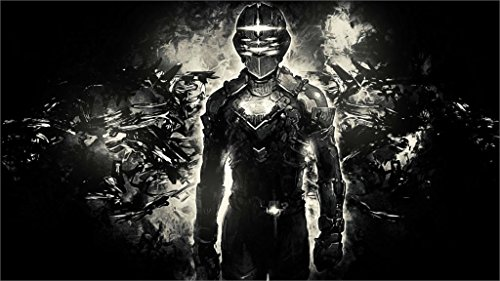 (Twenty-threeShooter Action 1Deads Warrior Cyborg Robot Deadspace Fighting 24X36 Inch Poster Print 3)