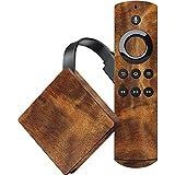 Wood Fire TV Skin - Walnut Grain | Skinit Patterns & Textures Skin