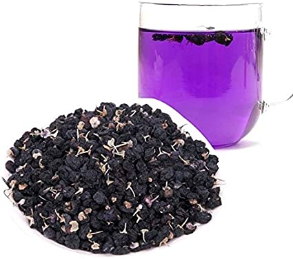 Rare Black Goji Berry Tea Color Changing Blue Tea That Turns