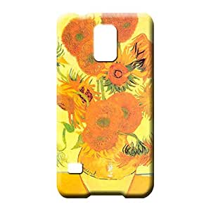 samsung galaxy s5 Impact High Grade Durable phone Cases mobile phone case sunflowers