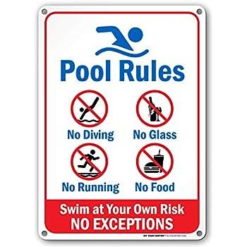 Amazon.com: Poolmaster 41384 - Reglas para la Señalización ...