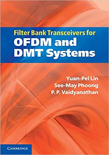amazoncom filter bank for ofdm and dmt systems yuanpei lin seemay phoong p p books