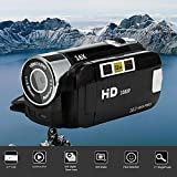 Iusun DV Camera HD 1080P Handheld Digital Camera 16X Digital Zoom Video Camcorder Cameras (Black)