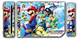 Super Mario Party Island Tour Fun Video Game Vinyl Decal Skin Sticker Cover for the Nintendo Wii System Console