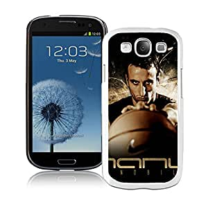 Fashionable Antiskid Cover Case For Samsung Galaxy S3 I9300 With San Antonio manu Ginobili 1 White Phone Case