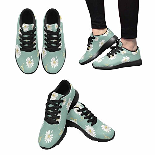 InterestPrint Womens Jogging Running Sneaker Lightweight Go Easy Walking Comfort Sports Running Shoes Multi 14 yQ70U