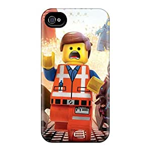 Excellent Hard Phone Case For Iphone 4/4s (qhH4027VuHW) Support Personal Customs High-definition The Lego Movie Image