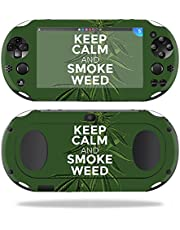 MightySkins Skin Compatible with Sony PS Vita (Wi-Fi 2nd Gen) – Smoke Weed   Protective, Durable, and Unique Vinyl Decal wrap Cover   Easy to Apply, Remove, and Change Styles   Made in The USA