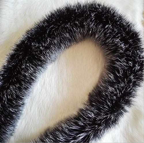 Lot 6 Cm Wide Handmade Decoration Material Widened Rabbit Hair Lace Winter Garment Edge Fur - Rabbit Material Lace Fabric Material Furry Overcoat Artificial Rabbit Coat ()