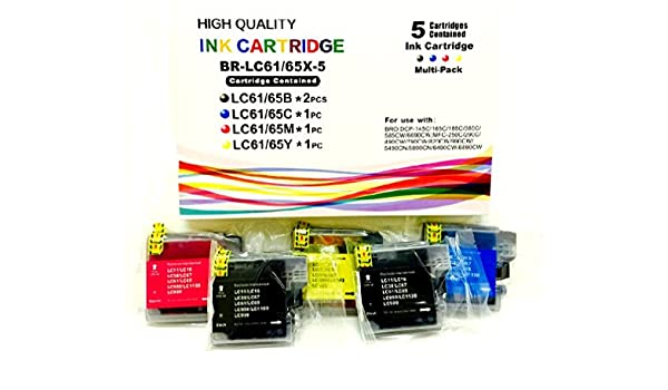 3-Pack Black Ink Cartridge for Brother MFC 495CW MFC 5895CW Printer MFC 295CN
