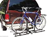 "Double Hitch Platform Rack 2 Bike Carrier Rack 2"" Receiver Mount Suv Trucks"