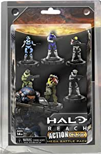 NECA Halo Reach Action Clix: Noble Team 6 Pack