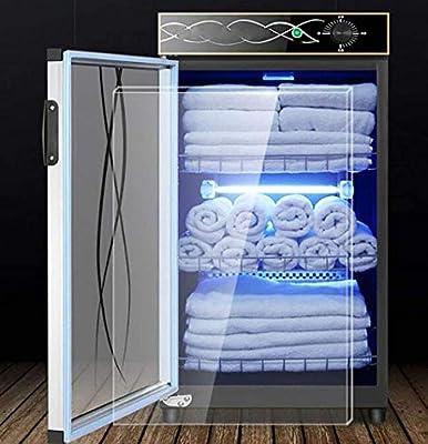 BEANDENG Vertical Desinfección del gabinete, Toalla de Limpieza Comercial gabinete, de Gran Capacidad 120L, se Puede Utilizar en Salones de Belleza, hoteles, peluquerías (Color: Negro, Tamaño: 120l): Amazon.es: Hogar