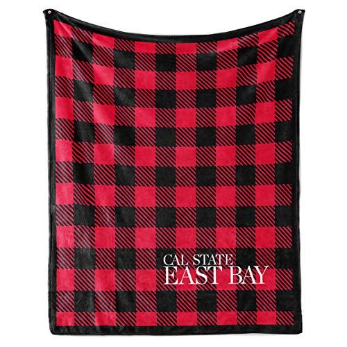 Venley NCAA Cal State East Bay Pioneers Fleece Blanket, 50