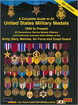 A complete guide to united states military medals 1939 to for Air force awards and decoration