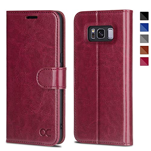 OCASE Samsung Galaxy S8 Case Leather Flip Wallet Case for Samsung Galaxy S8 Devices - ()