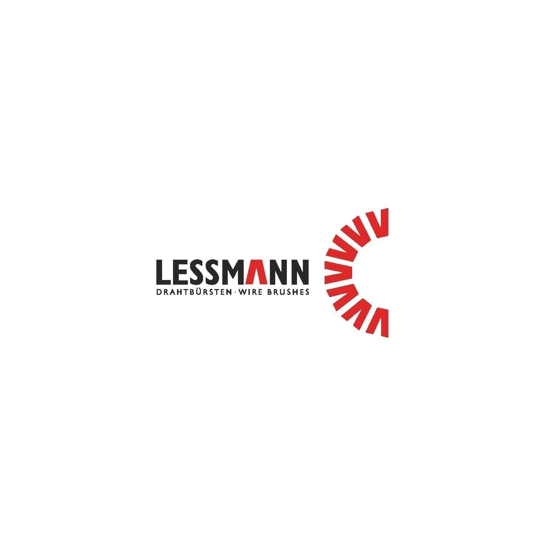 300 mm L/änge 10 mm Durchmesser Lessmann 542303 Zylinderb/ürste mit /Öse Stahldraht